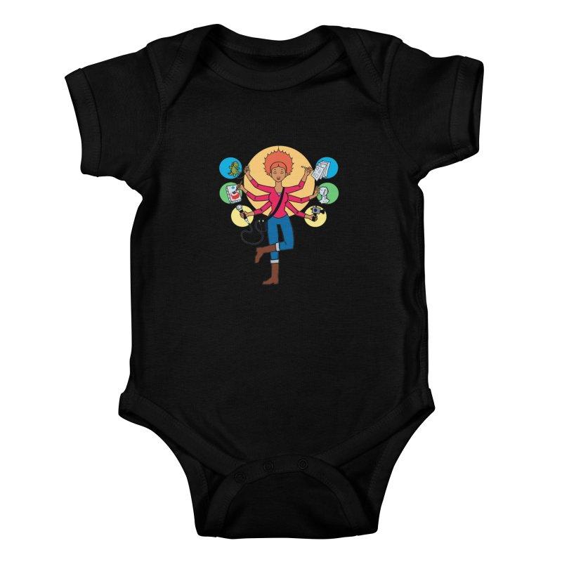 Museful Kids Baby Bodysuit by Natou's Artist Shop