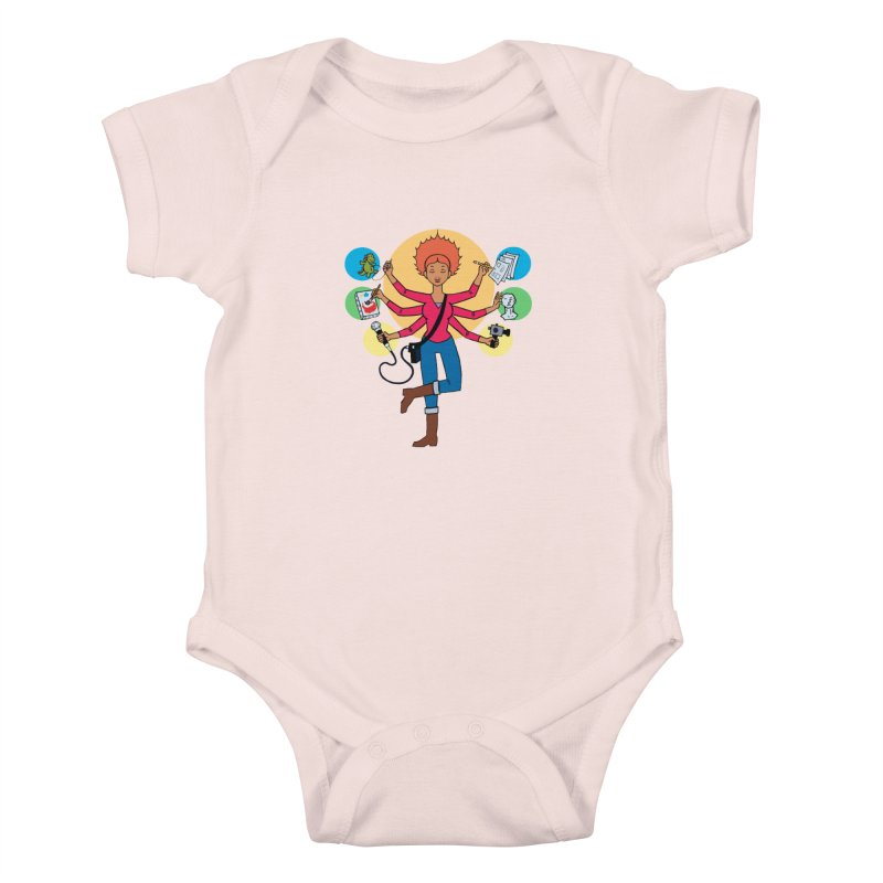 Museful Kids Baby Bodysuit by Natou's Artist Shop