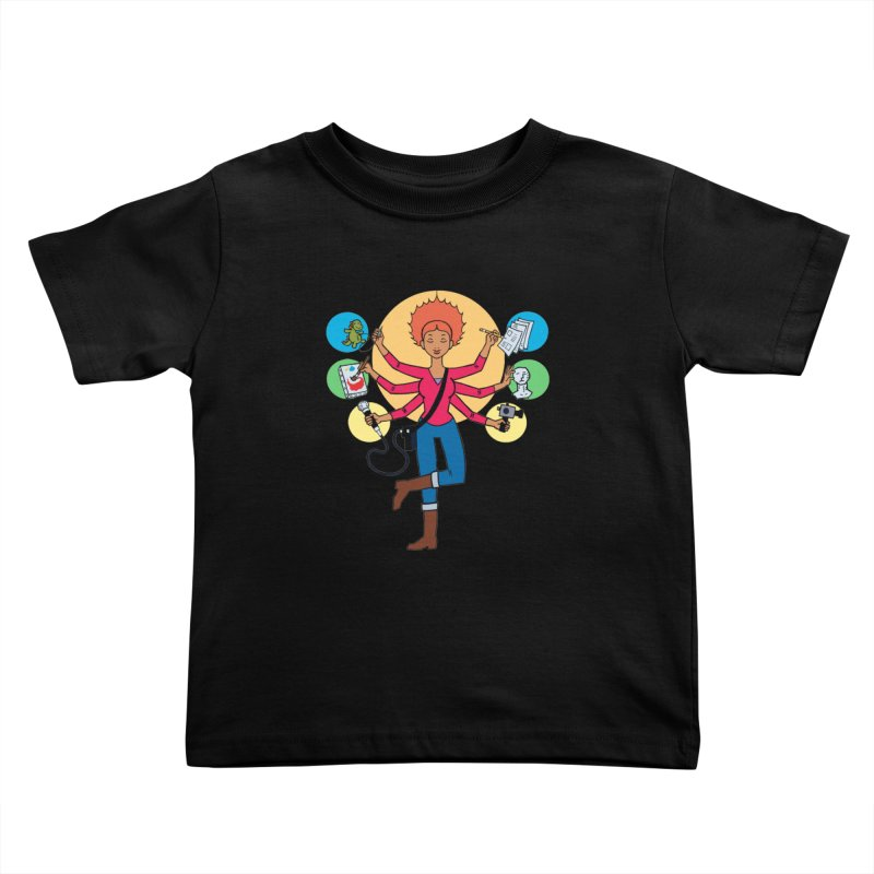 Museful Kids Toddler T-Shirt by Natou's Artist Shop
