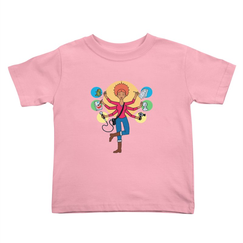 Museful Kids Toddler T-Shirt by Natou's Artist Shop