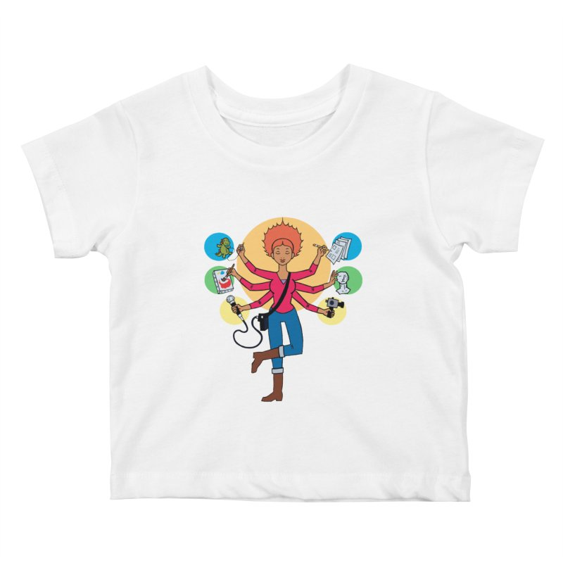 Museful Kids Baby T-Shirt by Natou's Artist Shop