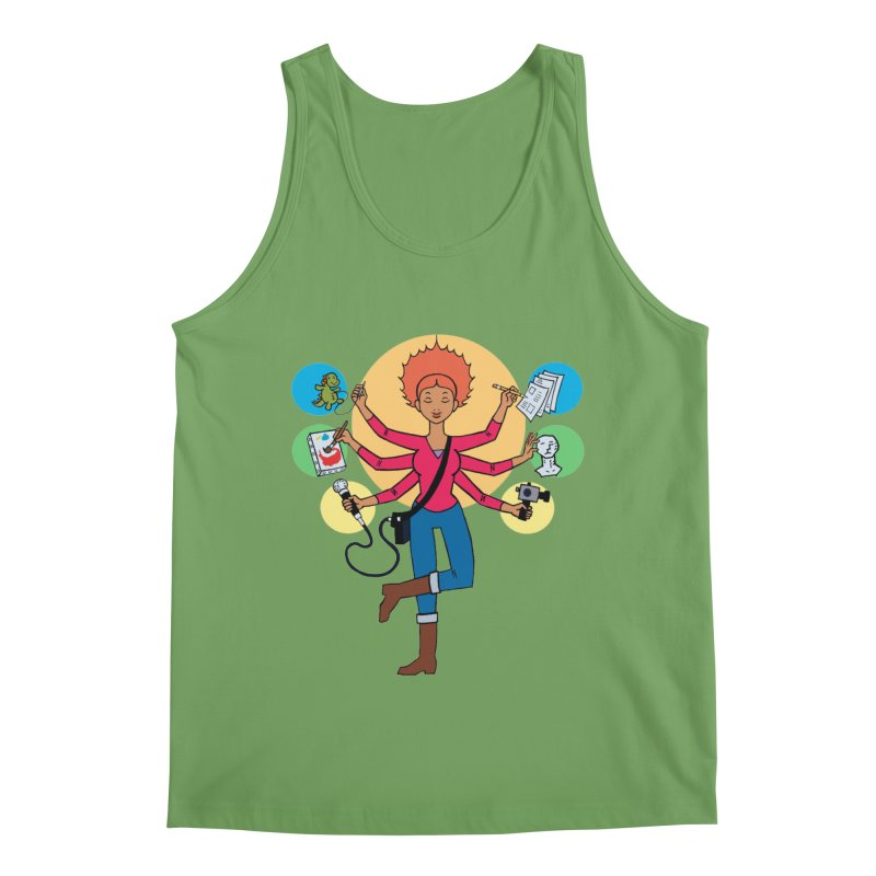 Museful Men's Tank by Natou's Artist Shop