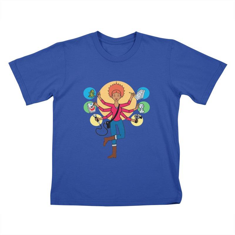 Museful Kids T-Shirt by Natou's Artist Shop