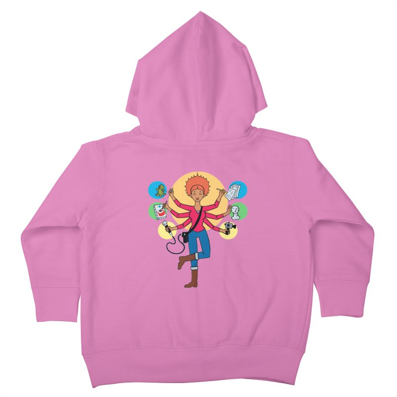 Museful Kids Toddler Zip-Up Hoody by Natou's Artist Shop