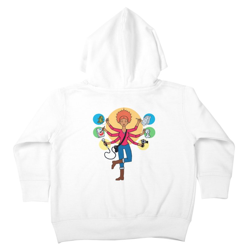 Museful Kids Toddler Zip-Up Hoody by Natou's Artist Shop