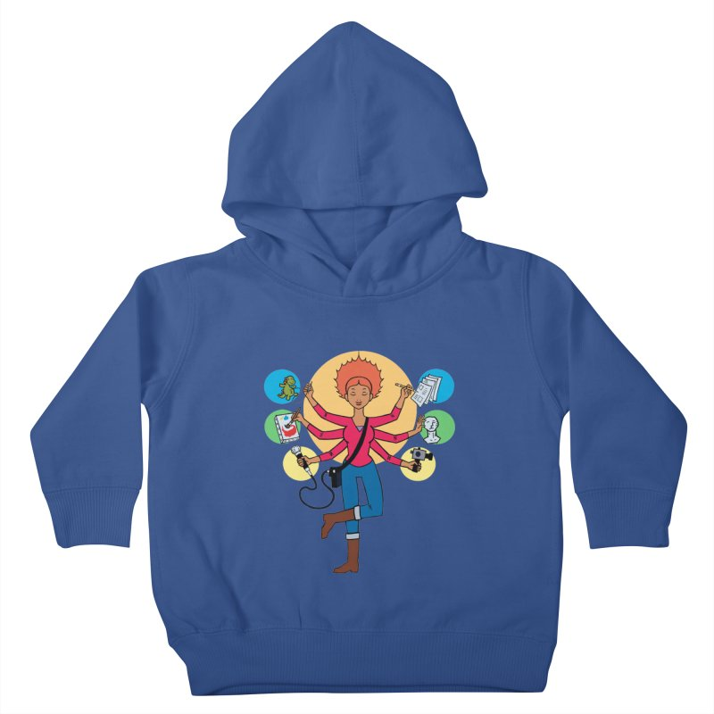 Museful Kids Toddler Pullover Hoody by Natou's Artist Shop