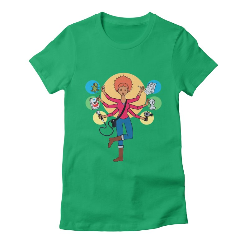 Museful Women's T-Shirt by Natou's Artist Shop