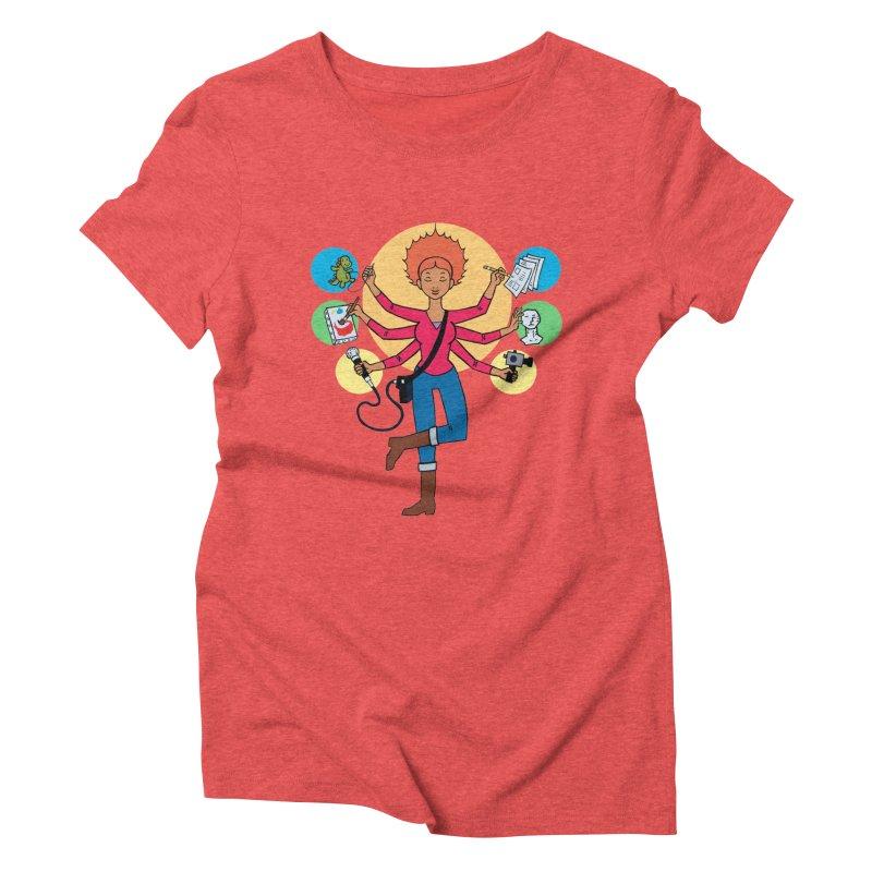 Museful Women's Triblend T-shirt by Natou's Artist Shop