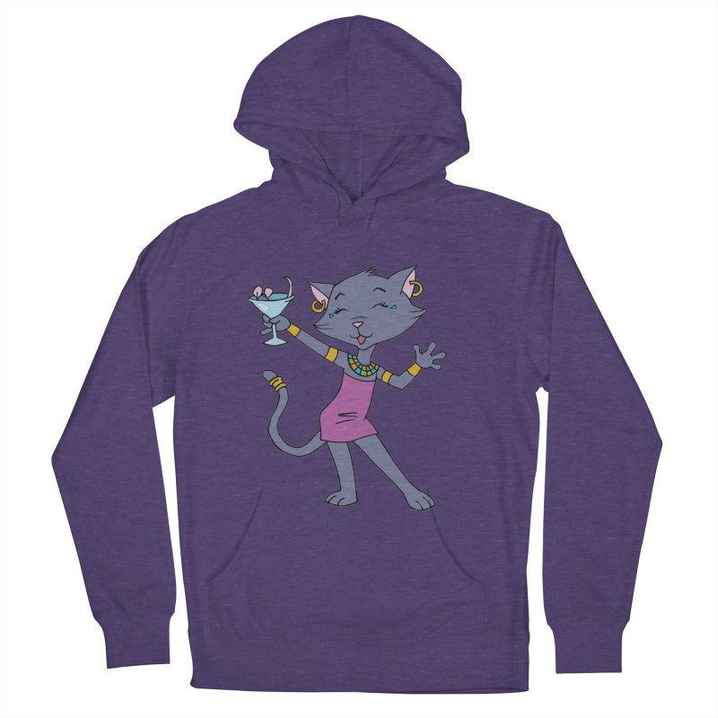 Lil' Bastet Women's French Terry Pullover Hoody by Natou's Artist Shop
