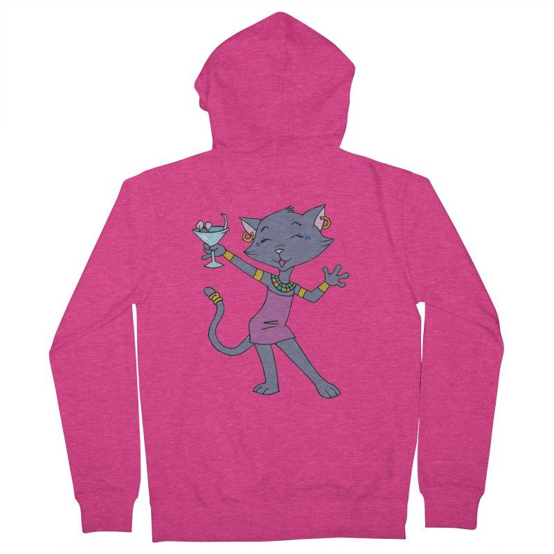 Lil' Bastet Women's Zip-Up Hoody by Natou's Artist Shop