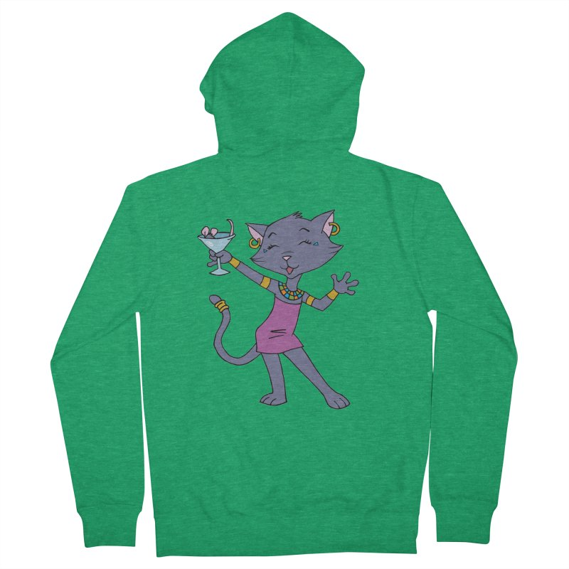 Lil' Bastet Men's Zip-Up Hoody by Natou's Artist Shop