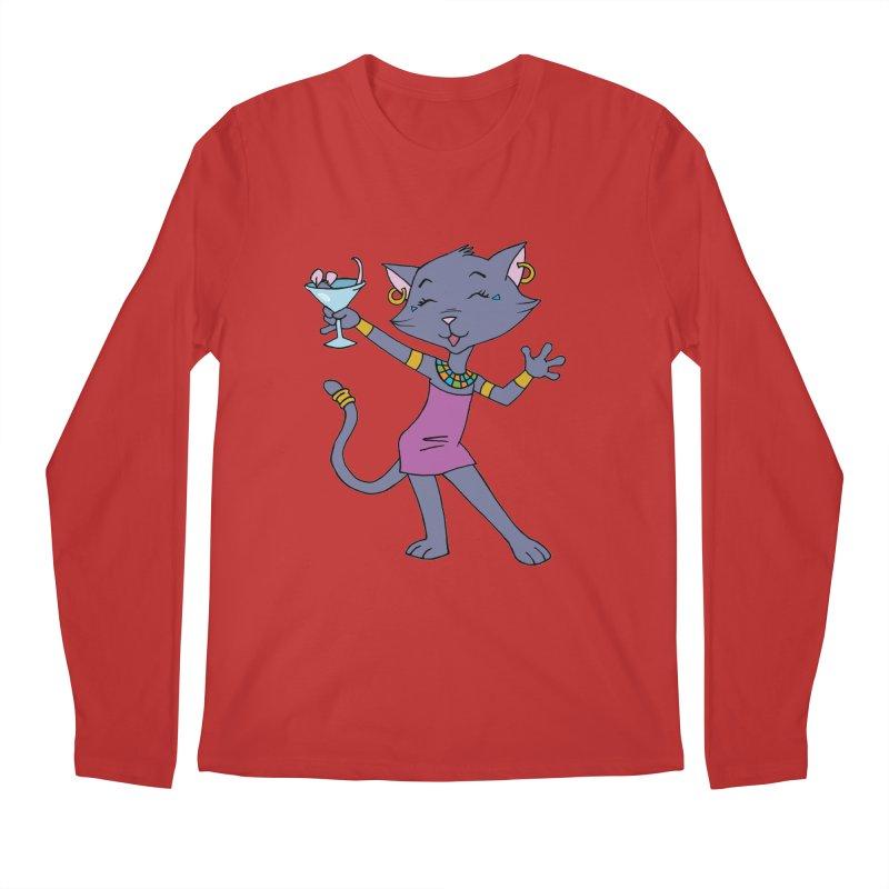 Lil' Bastet Men's Regular Longsleeve T-Shirt by Natou's Artist Shop