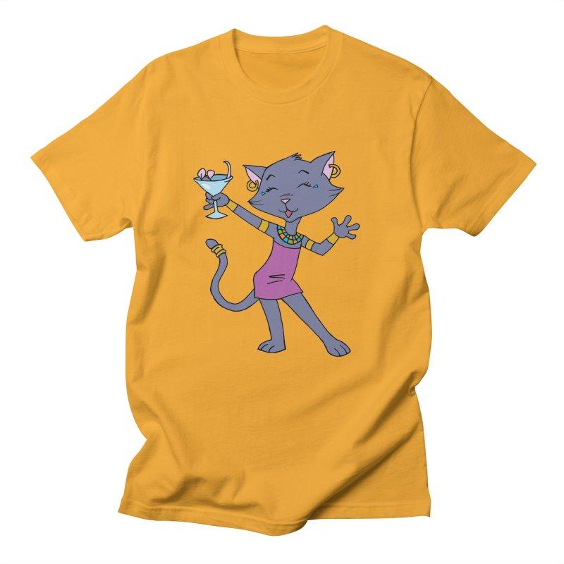 Lil' Bastet Men's T-Shirt by Natou's Artist Shop