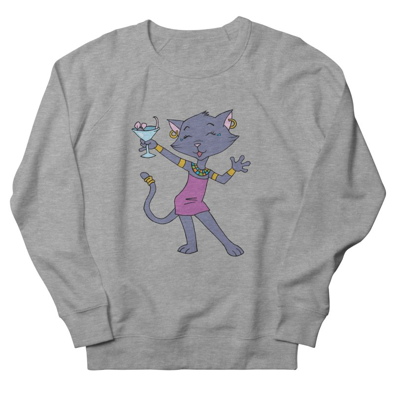 Lil' Bastet Women's French Terry Sweatshirt by Natou's Artist Shop