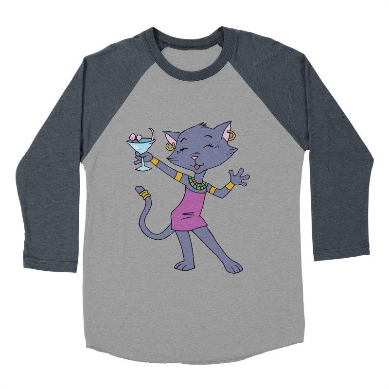 Lil' Bastet Men's Baseball Triblend Longsleeve T-Shirt by Natou's Artist Shop