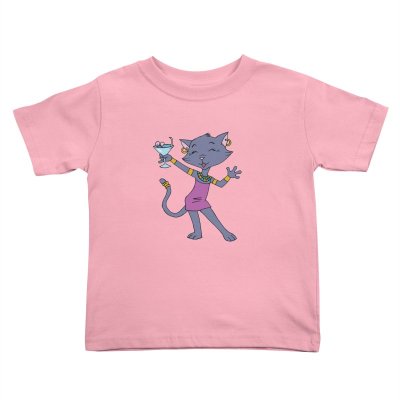 Lil' Bastet Kids Toddler T-Shirt by Natou's Artist Shop