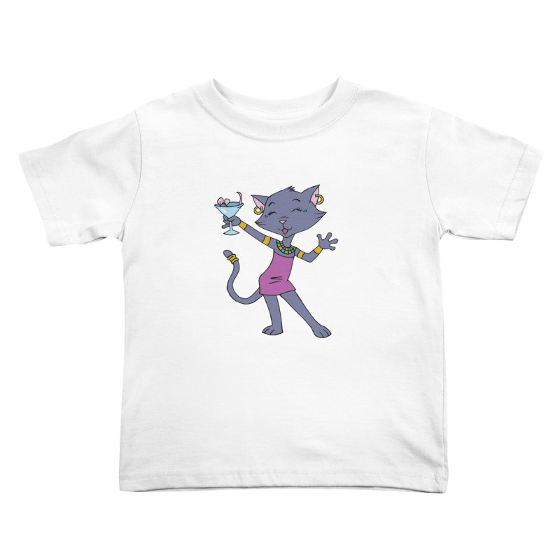 Lil' Bastet Kids Toddler T-Shirt by Natou's Artist Shop