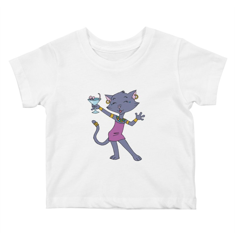 Lil' Bastet Kids Baby T-Shirt by Natou's Artist Shop