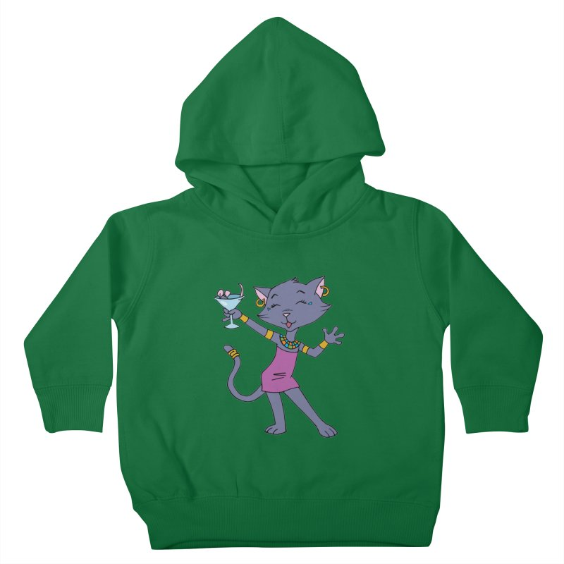Lil' Bastet Kids Toddler Pullover Hoody by Natou's Artist Shop