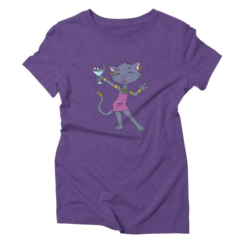 Lil' Bastet Women's Triblend T-Shirt by Natou's Artist Shop