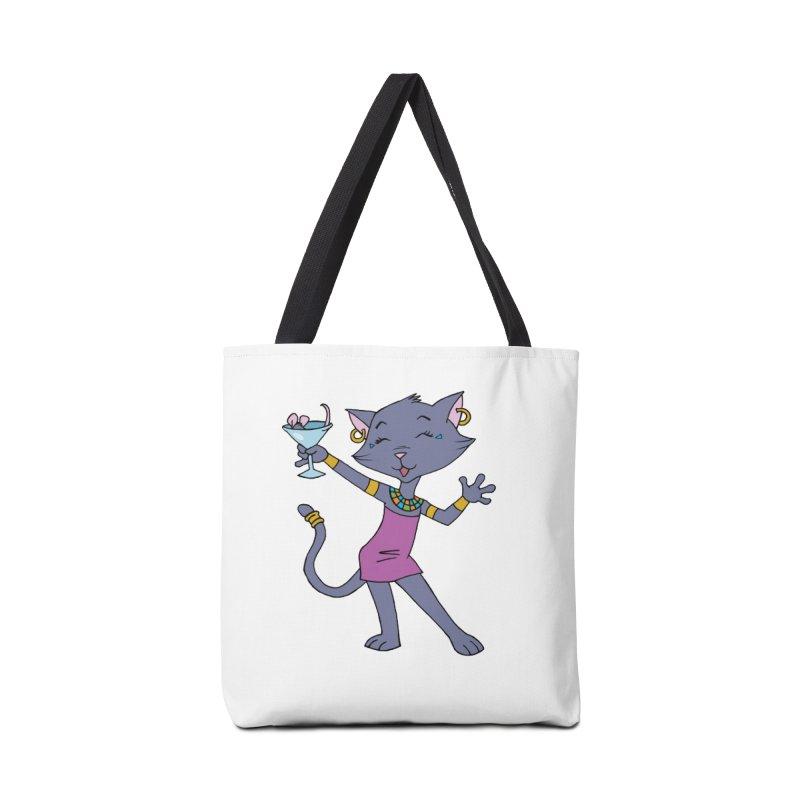 Lil' Bastet Accessories Tote Bag Bag by Natou's Artist Shop