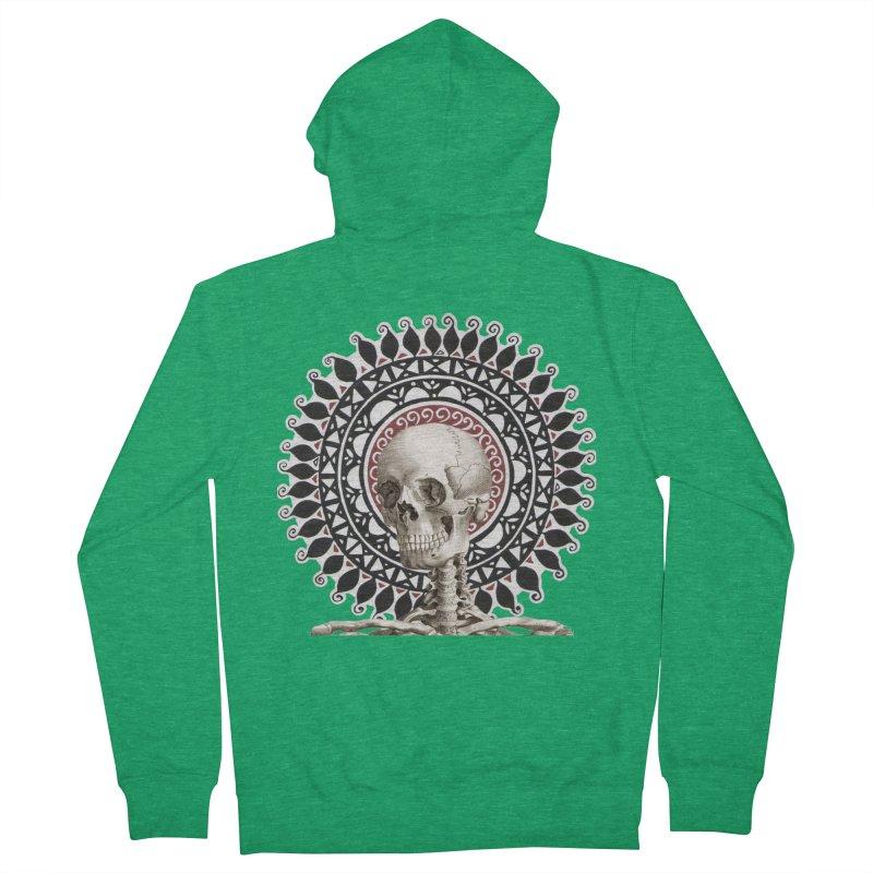 Saint Skeleton Men's Zip-Up Hoody by Natou's Artist Shop