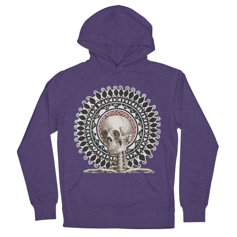 Saint Skeleton Women's French Terry Pullover Hoody by Natou's Artist Shop