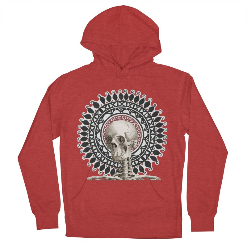Saint Skeleton Women's Pullover Hoody by Natou's Artist Shop