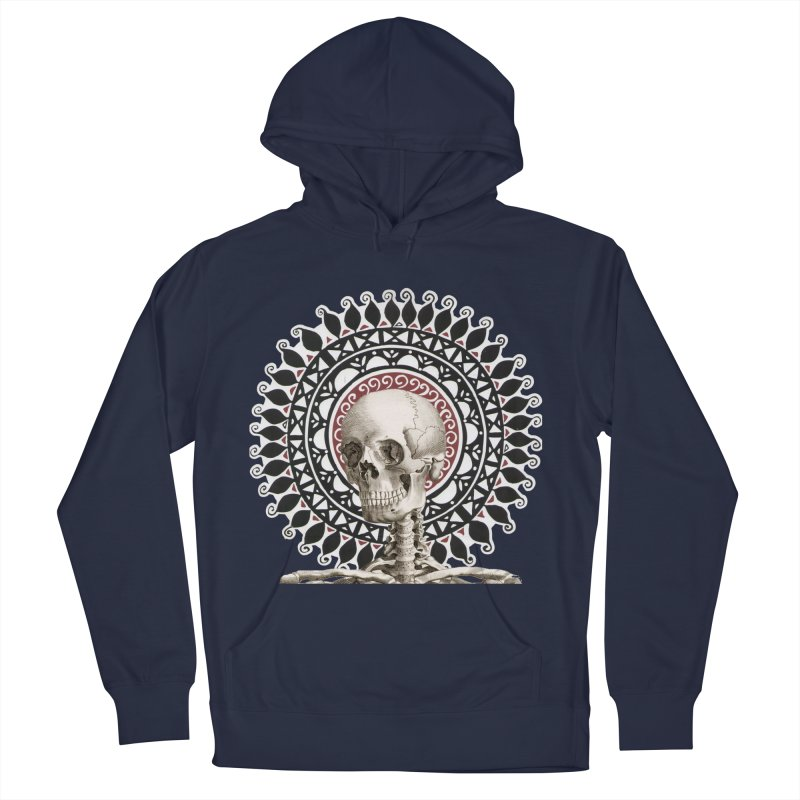 Saint Skeleton Men's Pullover Hoody by Natou's Artist Shop