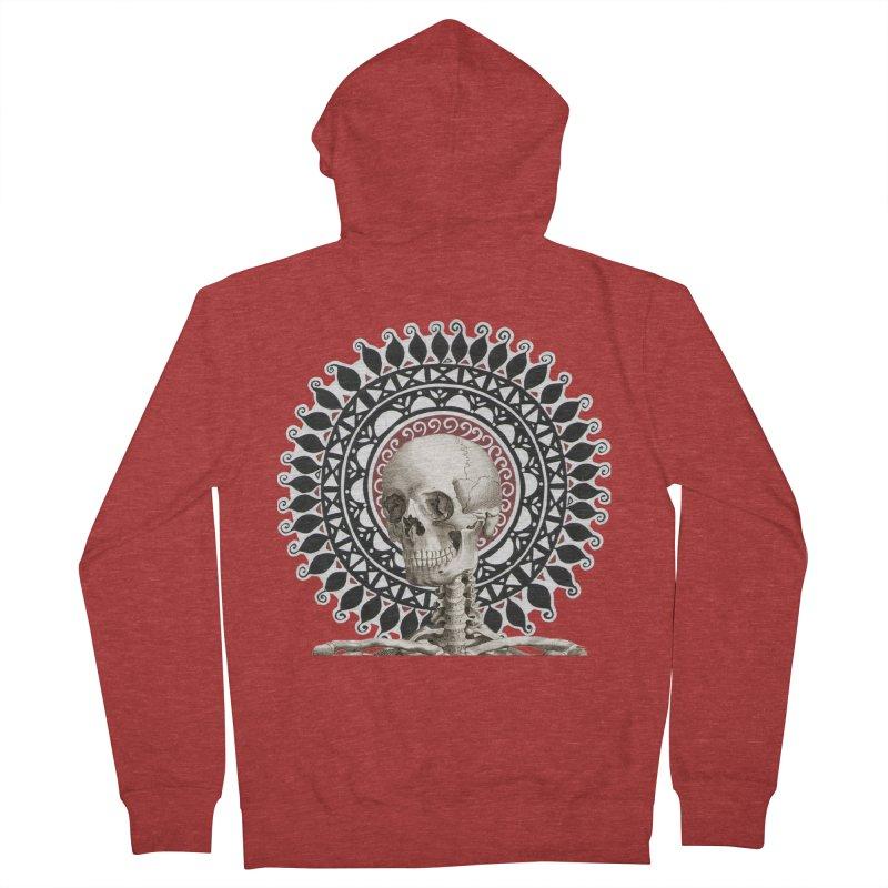 Saint Skeleton Women's Zip-Up Hoody by Natou's Artist Shop