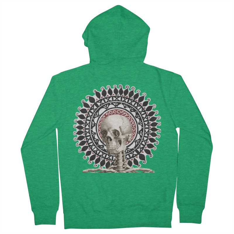 Saint Skeleton Men's Zip-Up Hoody by Natou's Artist Shop