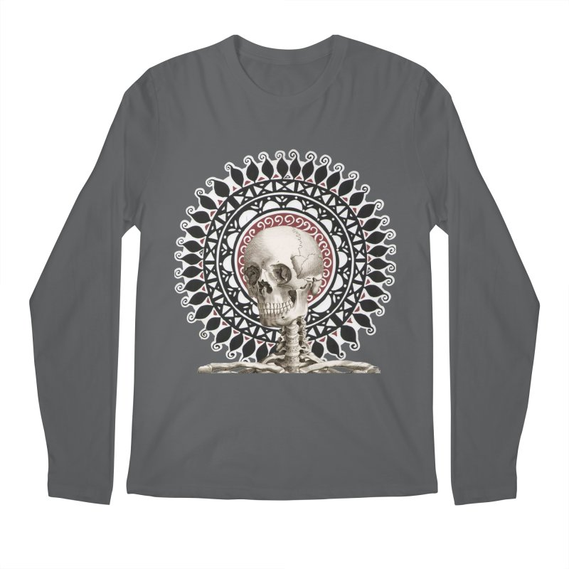 Saint Skeleton Men's Longsleeve T-Shirt by Natou's Artist Shop