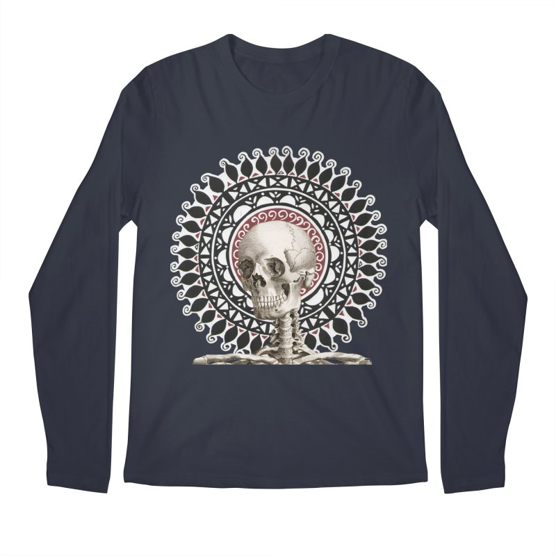 Saint Skeleton Men's Regular Longsleeve T-Shirt by Natou's Artist Shop