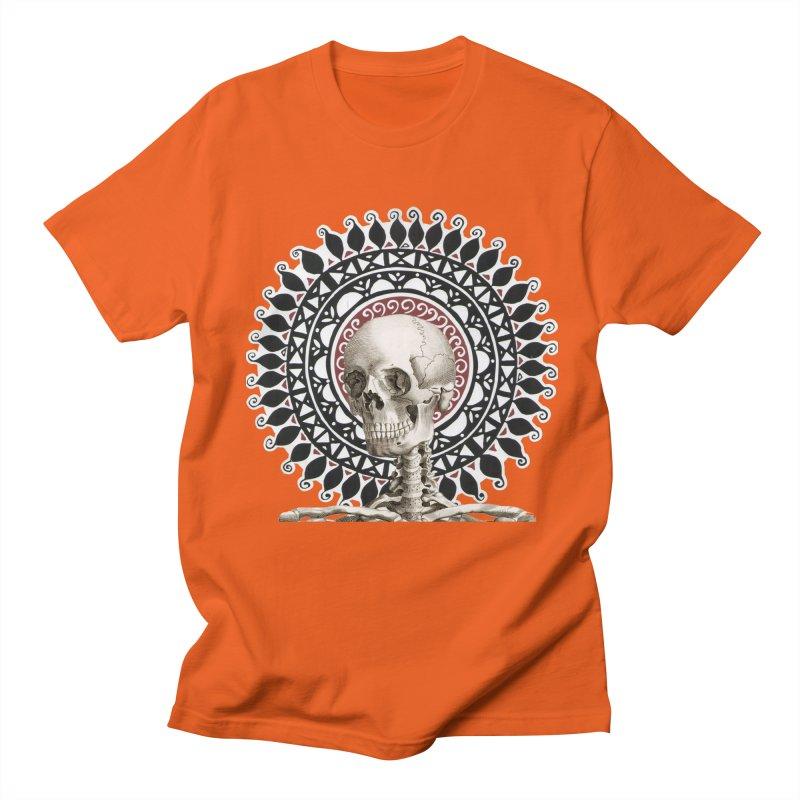 Saint Skeleton Men's T-Shirt by Natou's Artist Shop