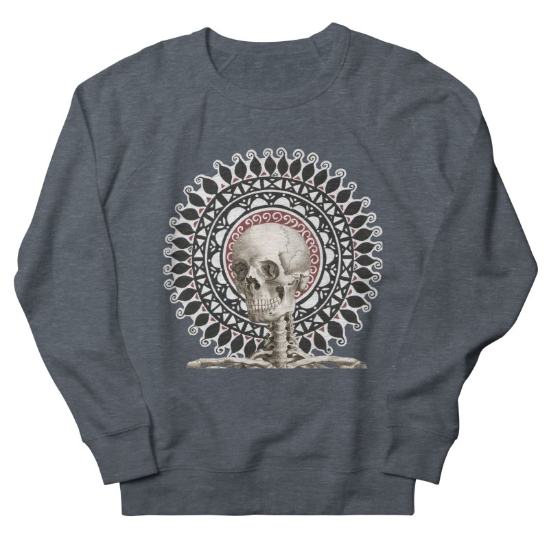 Saint Skeleton Women's French Terry Sweatshirt by Natou's Artist Shop