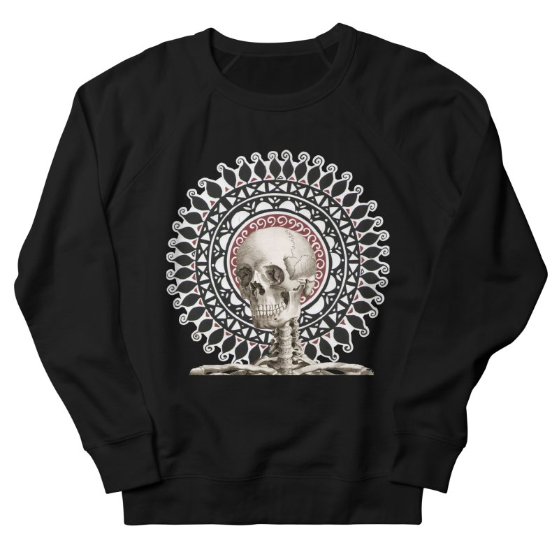 Saint Skeleton Men's Sweatshirt by Natou's Artist Shop