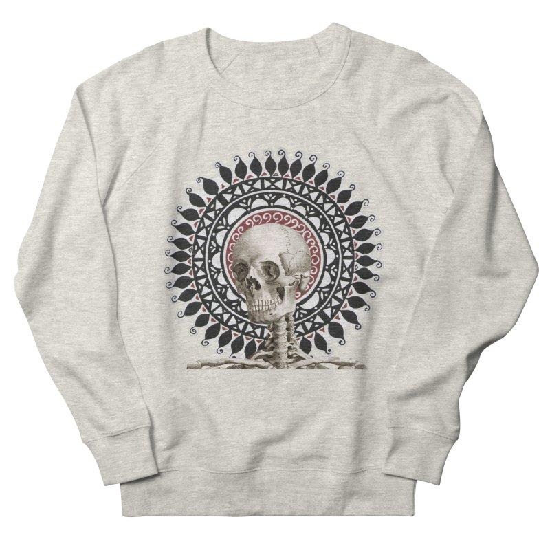 Saint Skeleton Men's French Terry Sweatshirt by Natou's Artist Shop