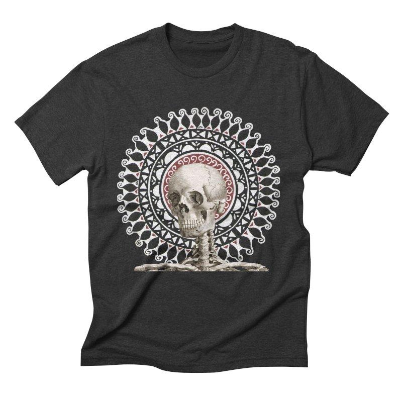 Saint Skeleton Men's Triblend T-Shirt by Natou's Artist Shop