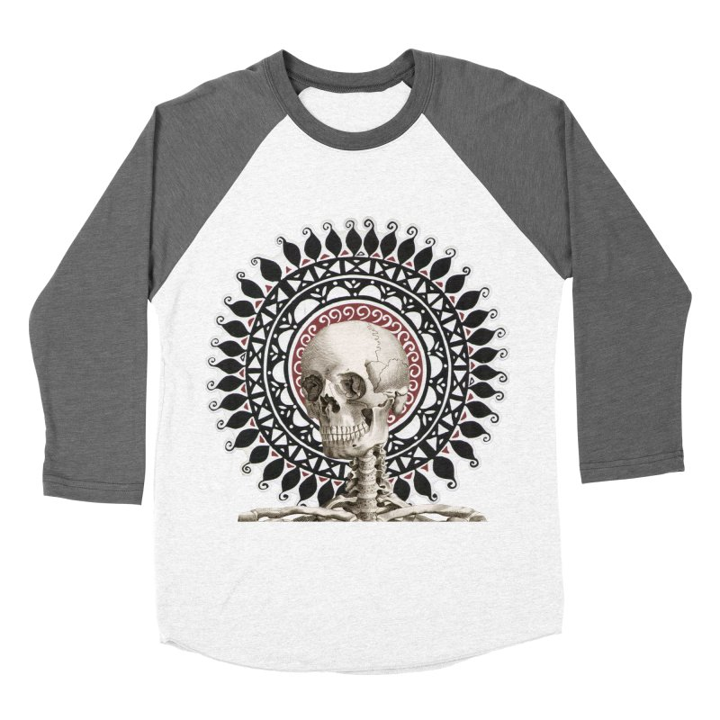 Saint Skeleton Women's Longsleeve T-Shirt by Natou's Artist Shop