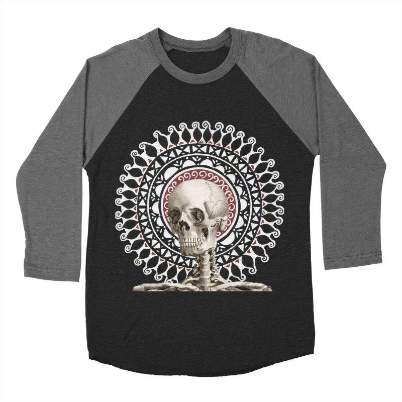 Saint Skeleton Women's Baseball Triblend Longsleeve T-Shirt by Natou's Artist Shop