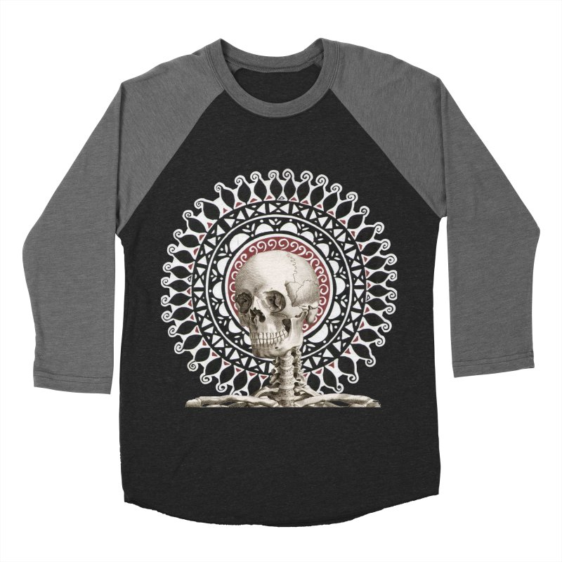 Saint Skeleton Men's Baseball Triblend Longsleeve T-Shirt by Natou's Artist Shop