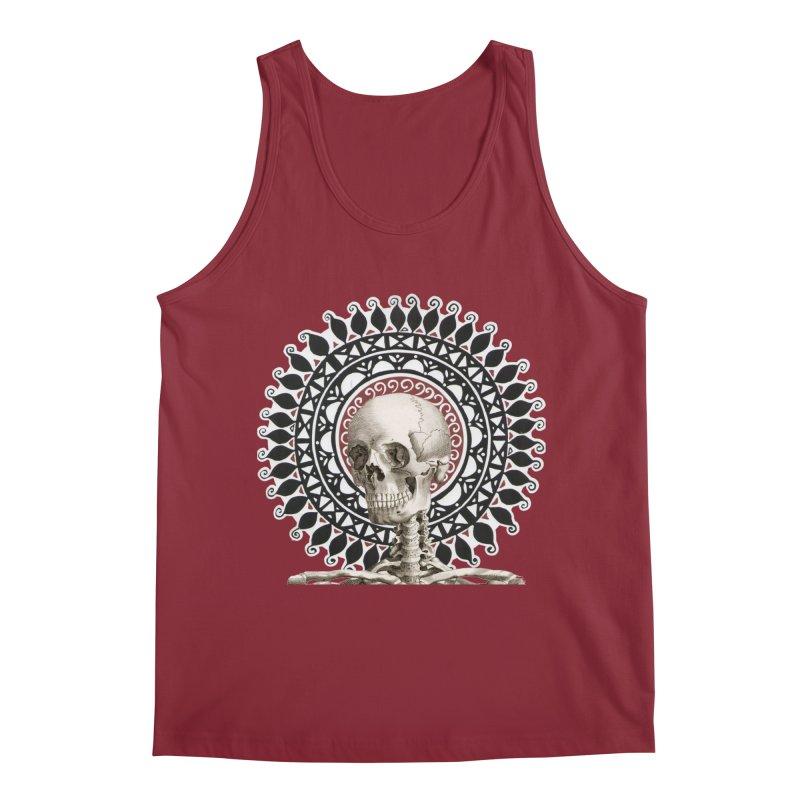 Saint Skeleton Men's Tank by Natou's Artist Shop