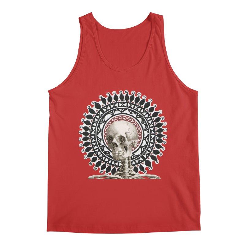 Saint Skeleton Men's Regular Tank by Natou's Artist Shop
