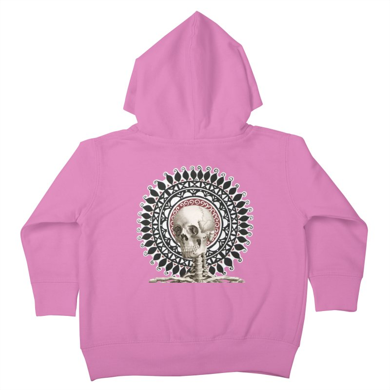 Saint Skeleton Kids Toddler Zip-Up Hoody by Natou's Artist Shop