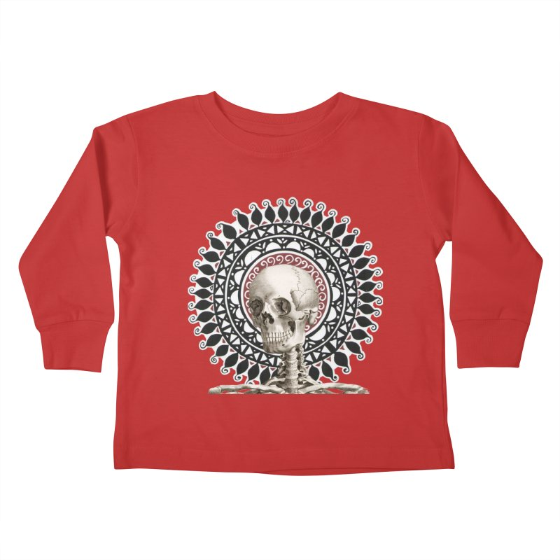 Saint Skeleton Kids Toddler Longsleeve T-Shirt by Natou's Artist Shop