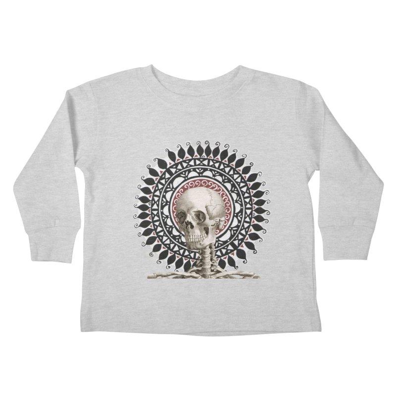 Saint Skeleton Kids Toddler Longsleeve T-Shirt by Natou's Artist Shop
