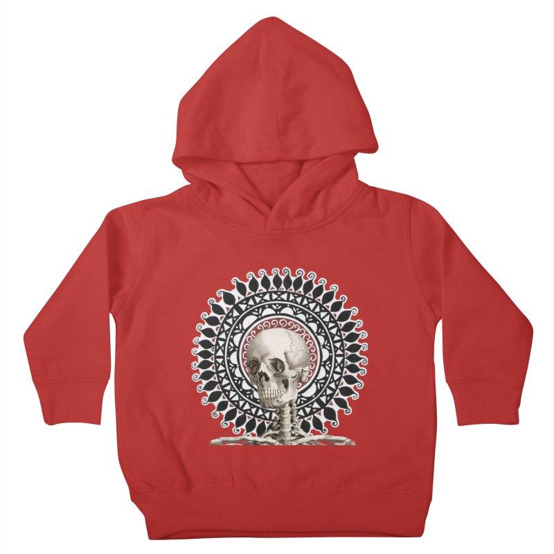 Saint Skeleton Kids Toddler Pullover Hoody by Natou's Artist Shop