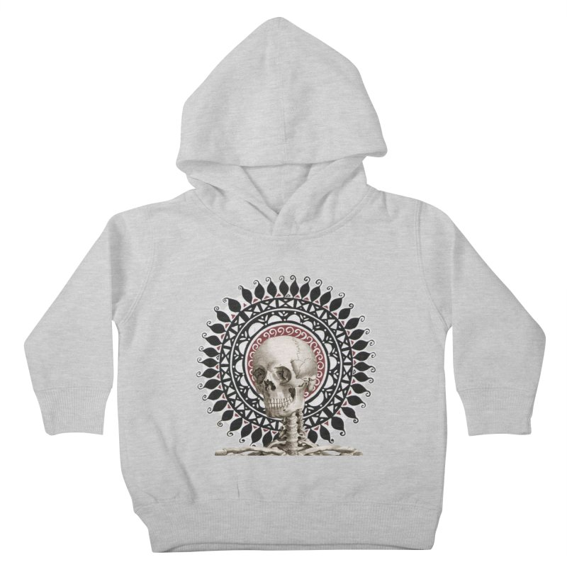 Saint Skeleton Kids Toddler Pullover Hoody by Natou's Artist Shop