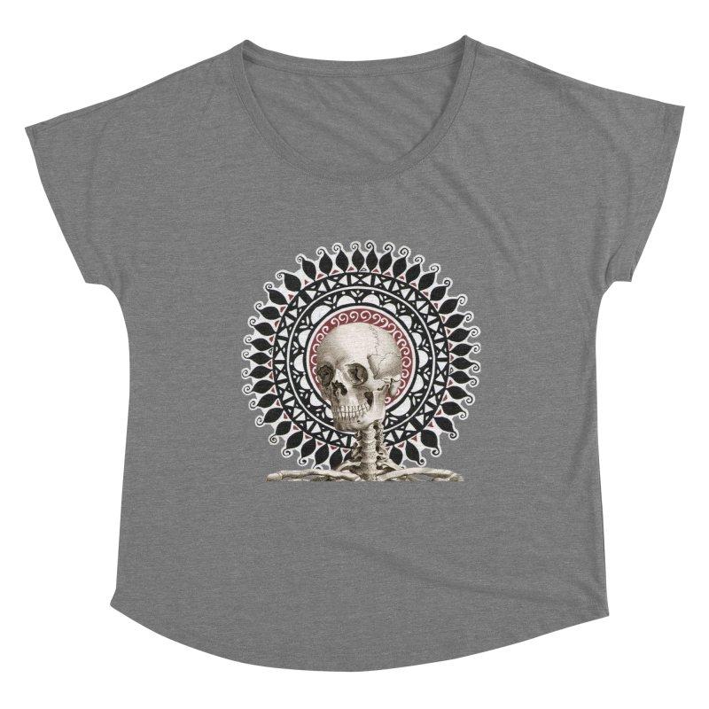 Saint Skeleton Women's Dolman Scoop Neck by Natou's Artist Shop