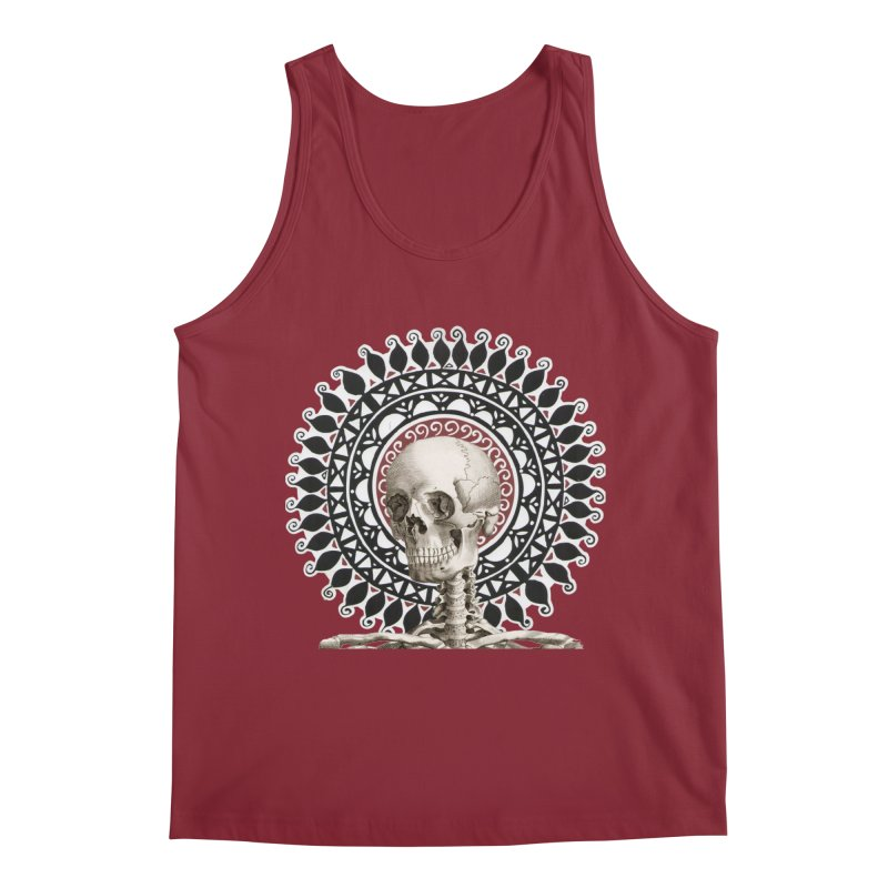 Saint Skeleton Men's Regular Tank by Natou's Artist Shop